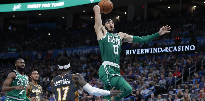 Breaking: Jayson Tatum Wins Player of the Week