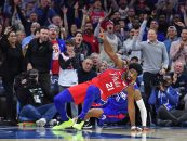 Embiid Paces a Sixer win Following Introductory Boos