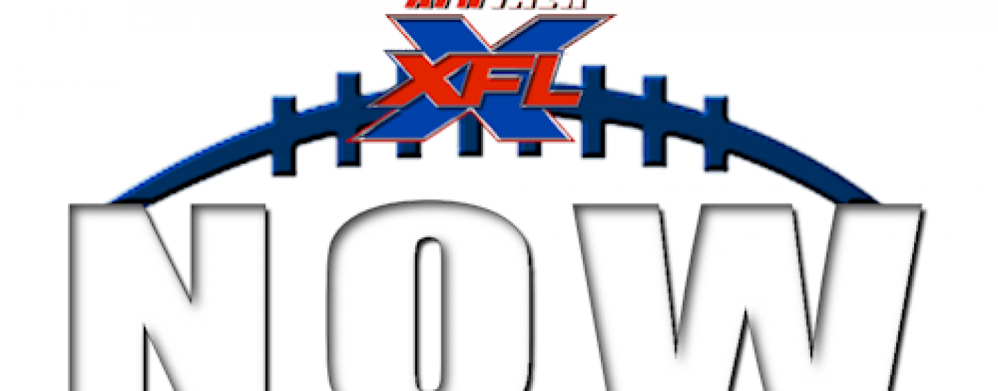 XFL Now March 1, 2020