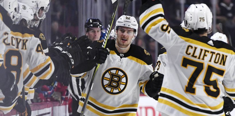 Sean Kuraly on Pace for Career Year
