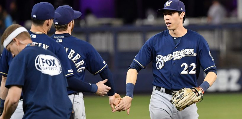 Milwaukee Brewers Officially Announce Christian Yelich Extension