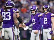 Report: Vikings Lock up Kicker Dan Bailey