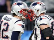 Brady Celebrates Gronkowski Reunion on Social Media