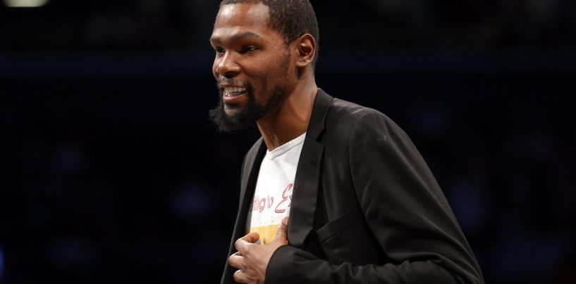 Kevin Durant Among 16 NBA Players to Participate in NBA 2K Tournament