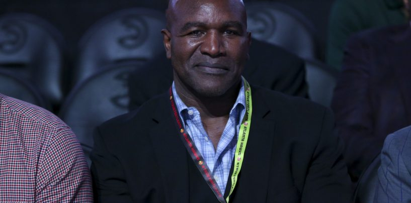 """Evander Holyfield Returns Following Arrival of Mike Tyson: """"I'm Back"""""""