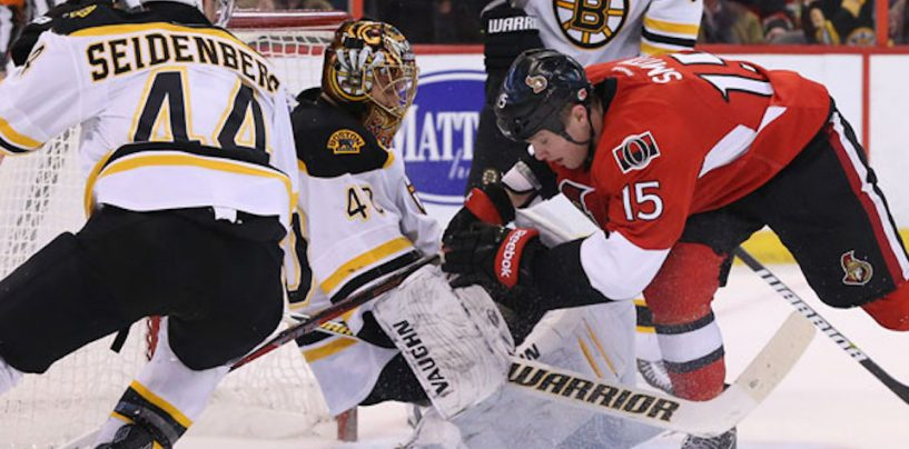Bruins Open Stanley Cup Playoffs vs. Senators; Look for First Playoff Win Since 2014