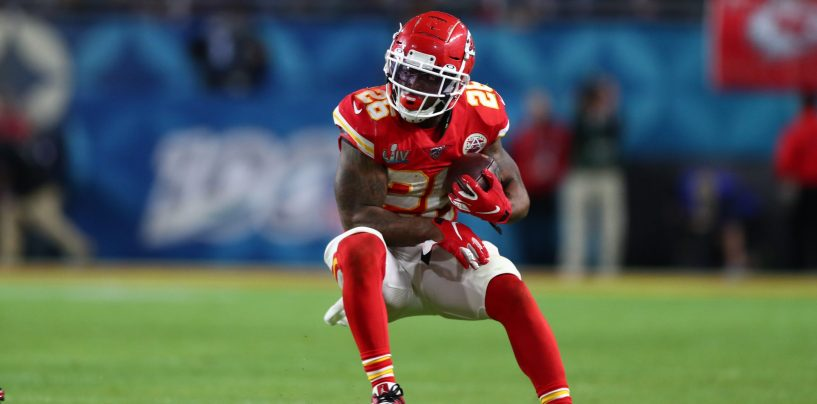 Chiefs' Damien Williams Opts Out of 2020 NFL Season