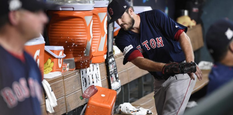 Red Sox Drop Game 2 to Astros, 8-2