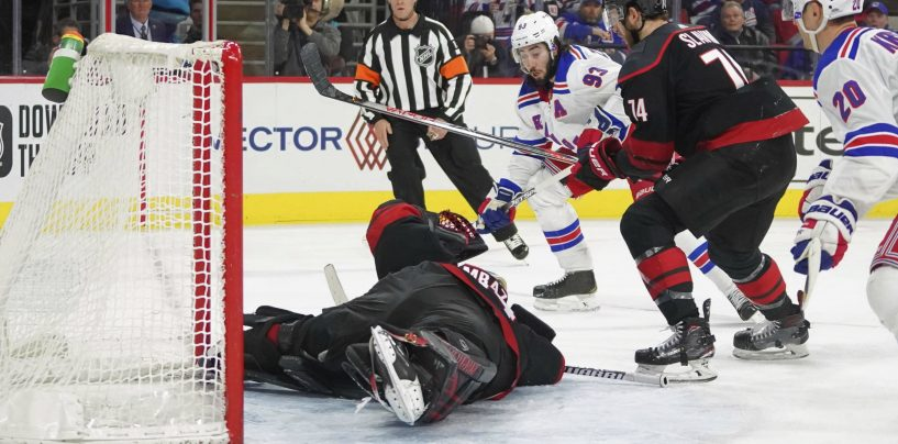 Takeaways From New York Rangers' Loss to Carolina Hurricanes