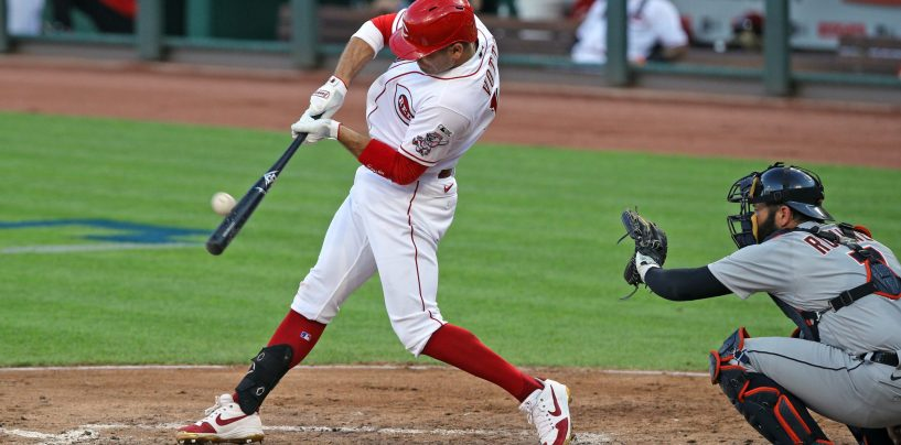 Reds Cruise Past Tigers in Season Opener
