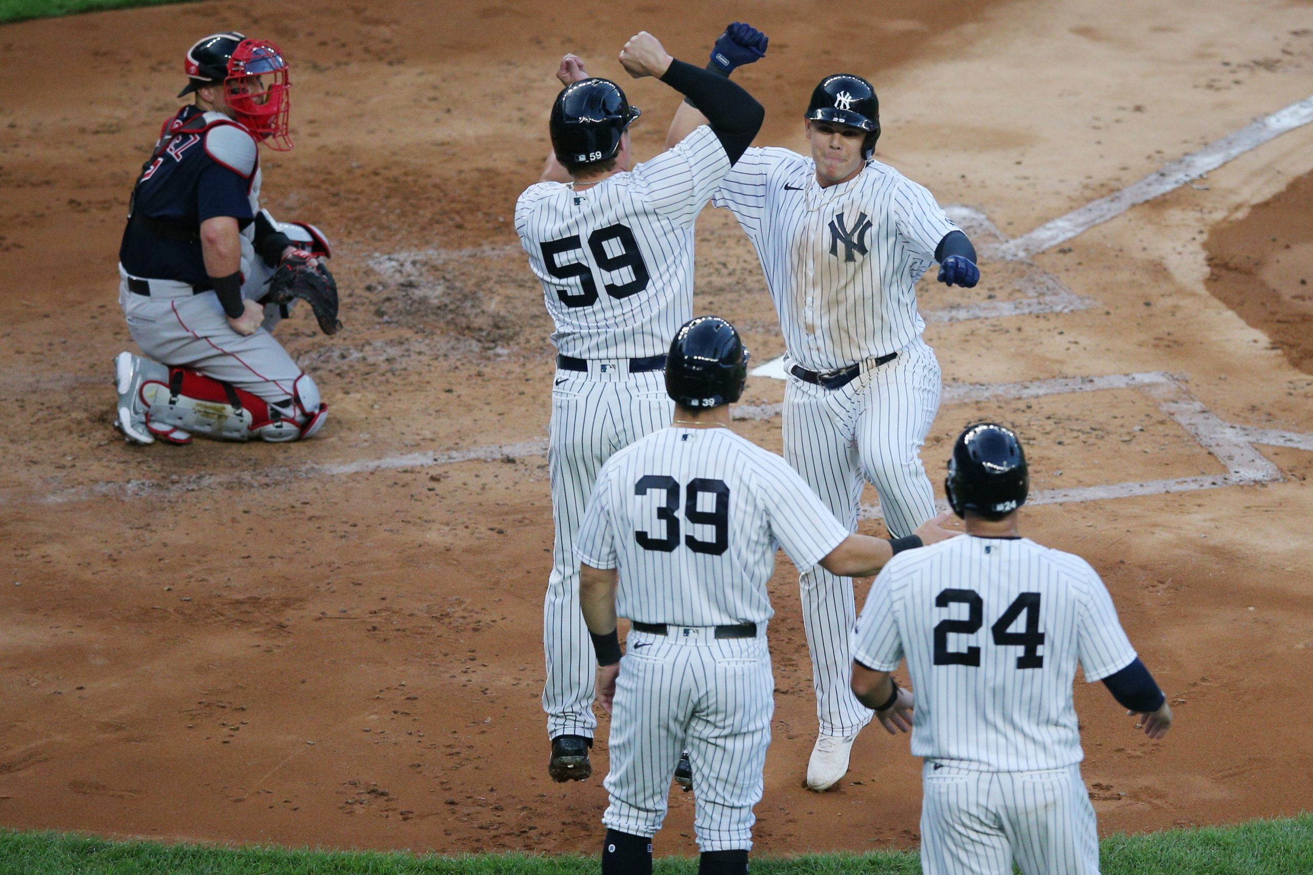 Nelson's Strong Debut, Urshela's Grand Slam Lead Yankees to 5-2 Victory Over Red Sox