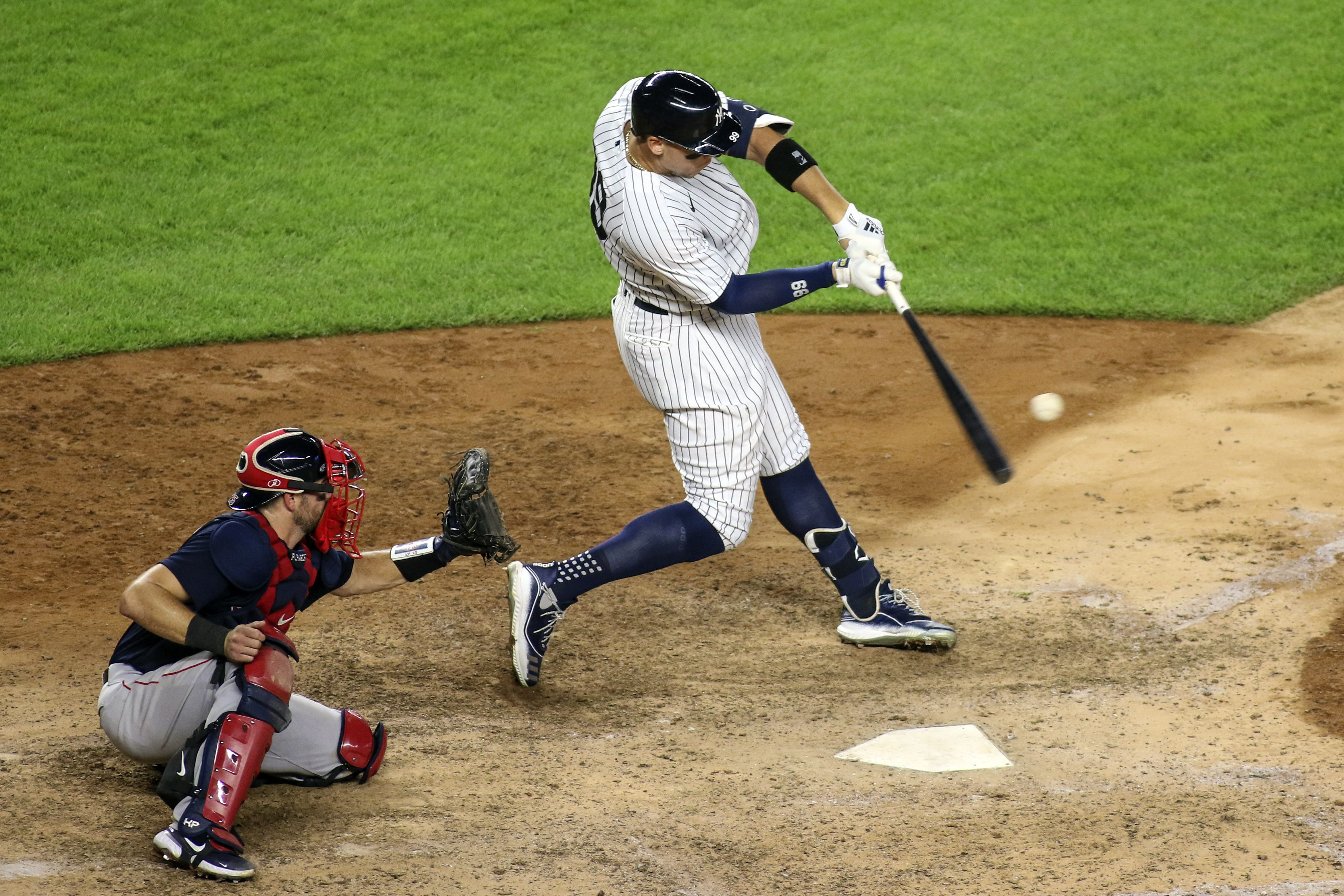 Judge Powers Yankees to 9-7 Win Over Red Sox
