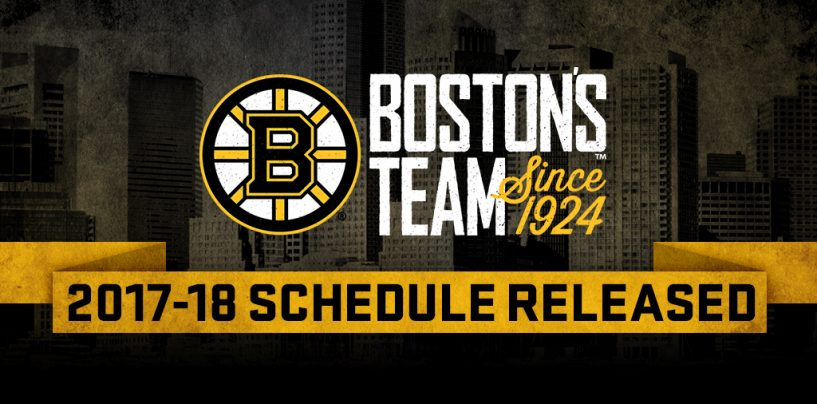 The Games That Stand out on the Bruins 2017-2018 Schedule