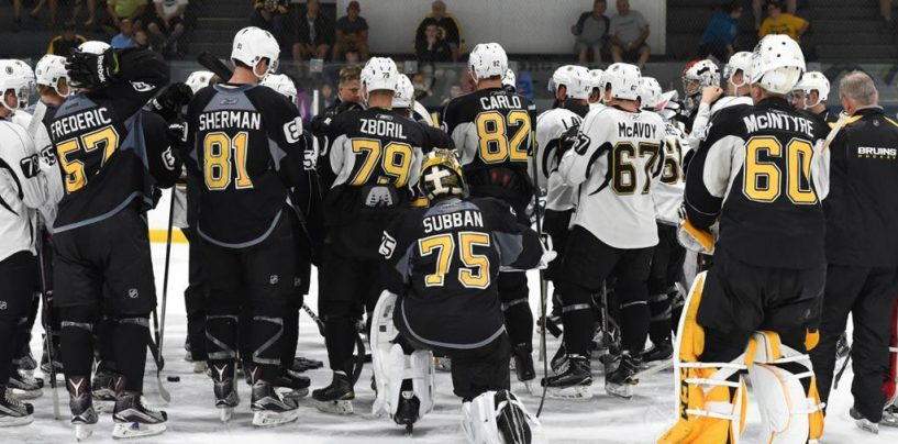 Bruins Make First Wave of Cuts; Send 12 to Providence
