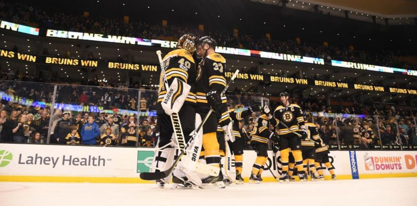 Bruins Announce Their 2017-18 National TV Schedule
