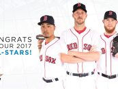 Three Red Sox Selected to All-Star Game; One's Faith Waits in the Wings