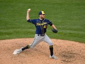 Report: Brewers' David Phelps Traded to Phillies