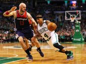 Thomas Pumps in 53 Points; Celtics Down Wizards 129-119 to Take 2-0 Series Lead