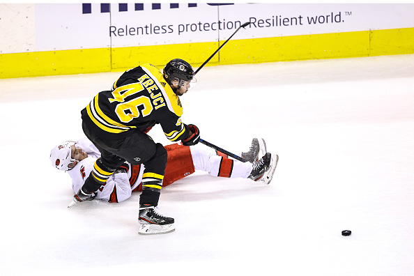 David Krejci's playoff excellence continues