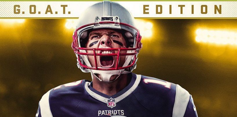 Gift or Curse? Brady to Appear on Cover of Madden NFL 18