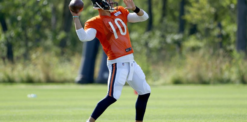 Bears Announce Mitchell Trubisky the Week One Starter