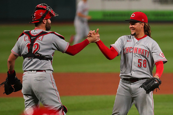 Reds Win First Series in a Month: Luis Castillo