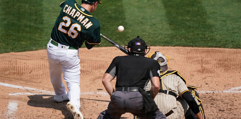 A's Lose Chapman for the Season