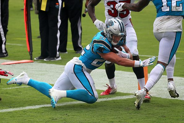 Report: Panthers' Christian McCaffrey Will Miss 4 to 6 Weeks