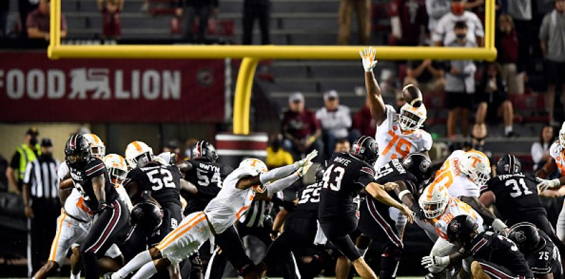 College Football: Tennessee Outlasts South Carolina