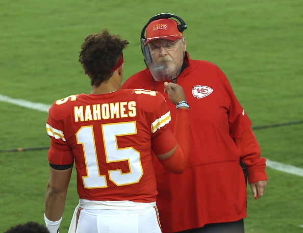 Kansas City Chiefs vs. Los Angeles Chargers: Patrick Mahomes