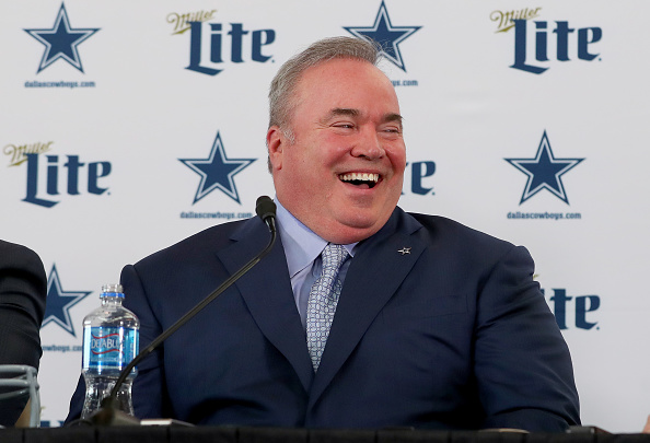 Mike McCarthy is undefeated in AT&T Stadium