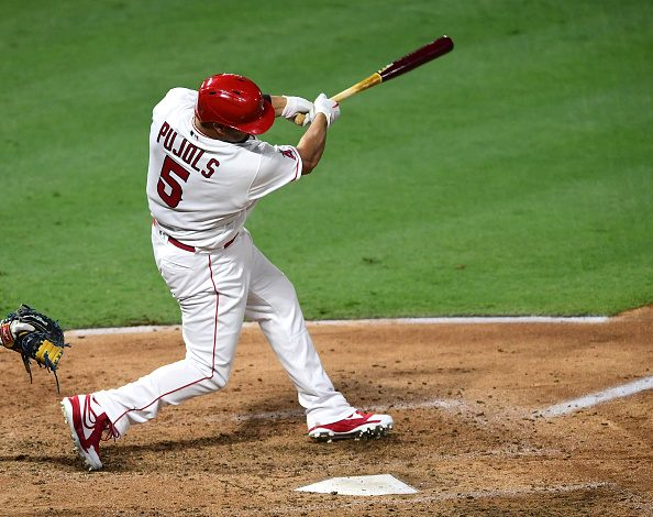 Pujols Homers Passing Mays for Fifth All-Time