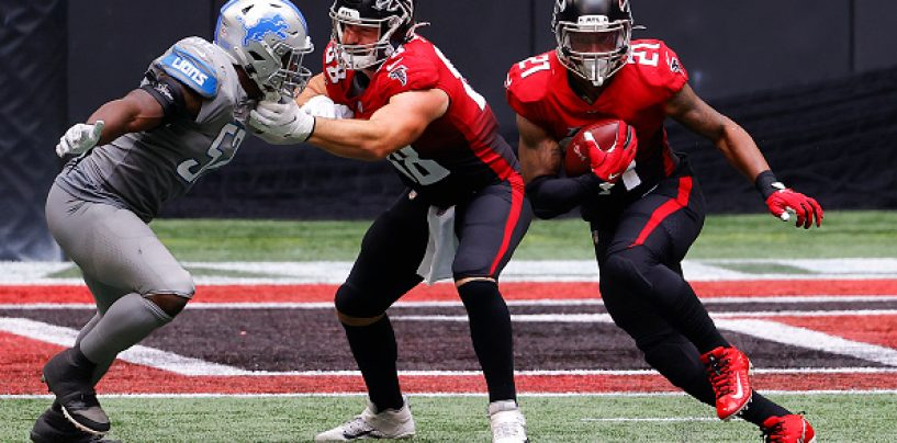 Fanelli's Fave Five Prop Bets for TNF: Atlanta Falcons vs. Carolina Panthers