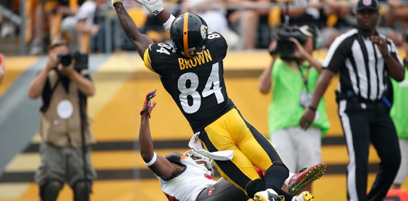 Tampa Bay Buccaneers To Sign Antonio Brown