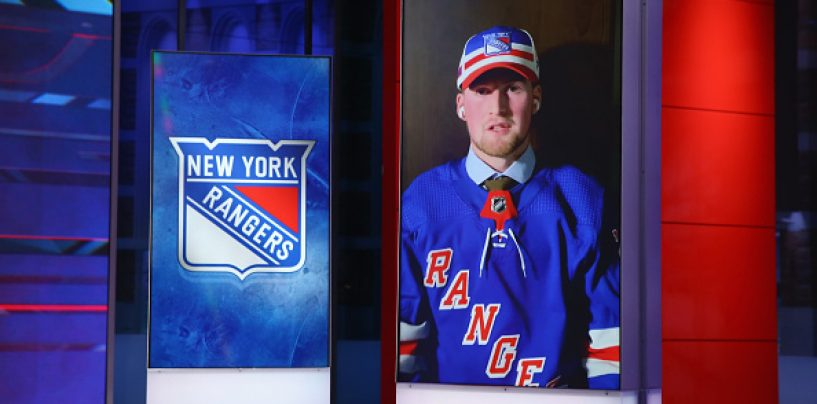 New York Rangers Continue Rebuild With Nine Selections in the 2020 NHL Draft