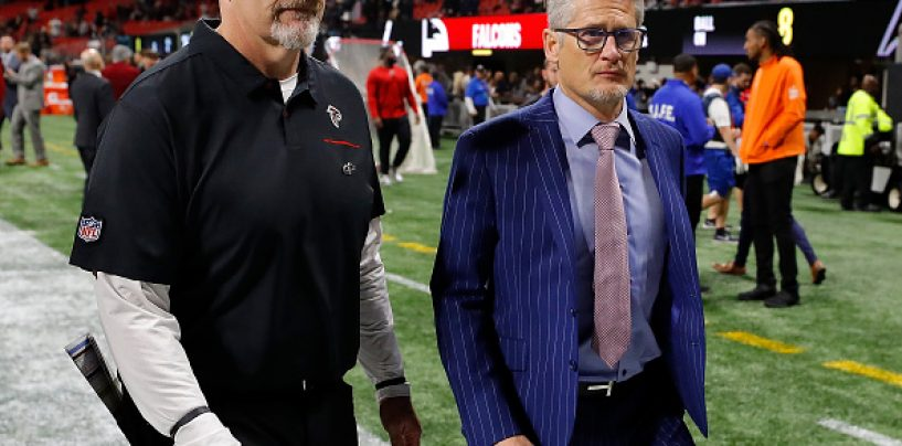 Breaking: Atlanta Falcons Have Fired Dan Quinn and Thomas Dimitroff