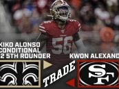 Report: San Francisco 49ers Trade Kwon Alexander to the New Orleans Saints