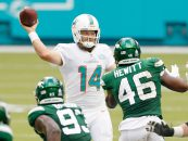 Week 12 Preview: Miami Dolphins vs. New York Jets