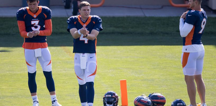 Broncos' QBs Ineligible to Play on Sunday