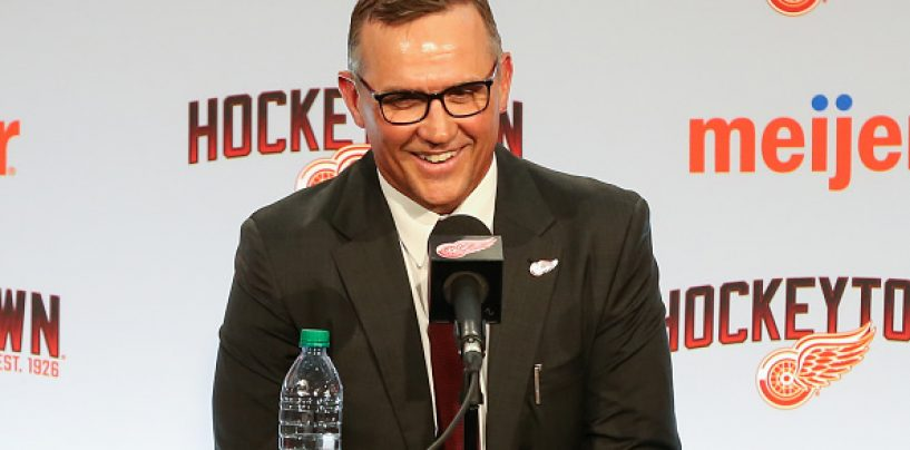Detroit Red Wings Offseason GM Report Card: Steve Yzerman