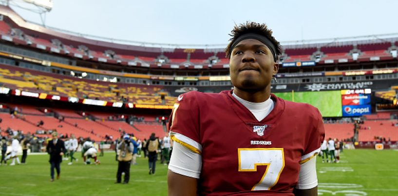 Report: Washington Football Team Releases Dwayne Haskins