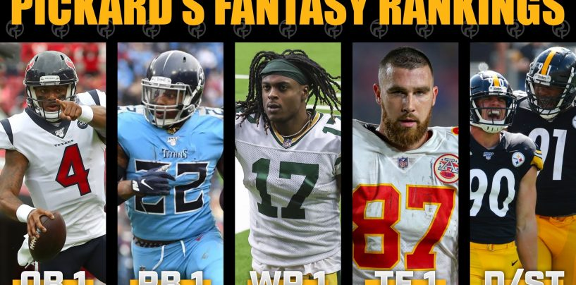 Pickard's Week 13 Fantasy Football Rankings