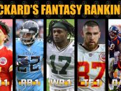 Pickard's Week 14 Fantasy Football Rankings
