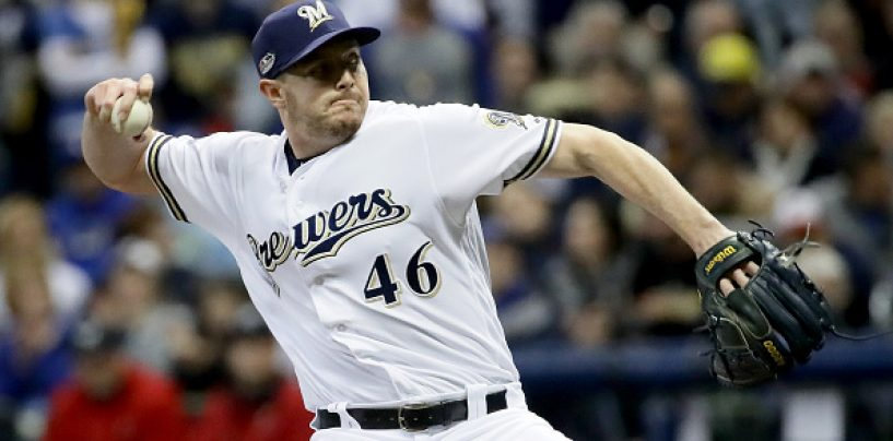 Breaking: Dodgers Acquire Knebel From Brewers