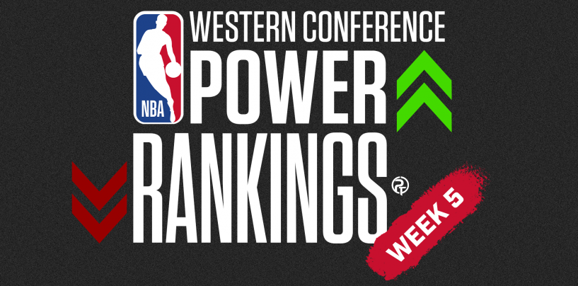 2020-21 NBA Western Conference Power Rankings: Week 5