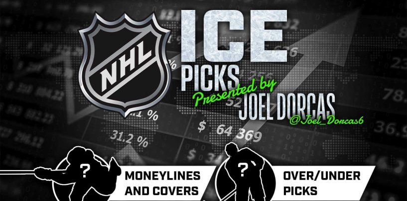 NHL Ice Picks: Saturday April 3, 2021