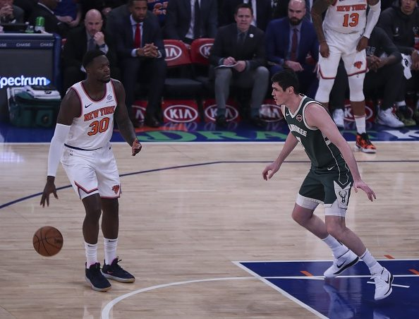 The New York Knicks Can't Trade Julius Randle Now