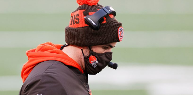 Browns' Kevin Stefanski Wins Coach of the Year Award