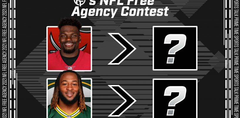 Enter the 2021 NFL Free Agency Giveaway