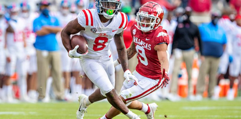 Three Wide Receivers to Target in the Draft for the Tennessee Titans